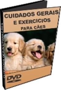 Cuidados Gerais e Exercícios Para Cães - DVD