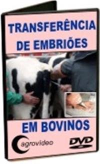 Transferência de Embriões - DVD