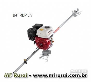 Motor B4T RDP 5.5 simples - Branco - Com rabeta curta - Sem alerta de óleo