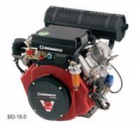 Motor BD-18.0 - Branco - Diesel - Partida elétrica