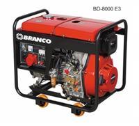 Gerador - BD-8000 - Branco - Diesel - Partida elétrica - 220V/380V - Trifásico
