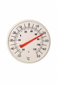 Termômetro para aviario bimetalico