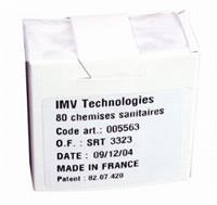 Camisa sanitária IMV embalagem com 80 unidades