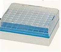 Cryobox plástico para rack quadrada com gavetas