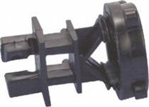 Isolador - Walmur - Para mourão de ferro com porca - pacote 25 unidades