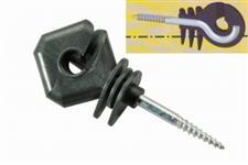 Isolador parafuso reforçado - Diamond - Quadrado - Pacote c/ 50 unid