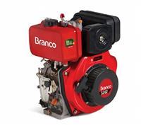 Motor BD 5.0 G2 eixo H - Branco - Partida manual/elétrica