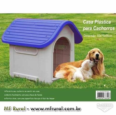 Casa Plástica para Cães - Chalesco - Frete Grátis