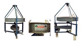 Máquina Sururuca de ventilação e separação densimétrica de impurezas