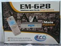 TELEFONE DE LONGO ALCANCE Eco Mania 628 c/1 fones
