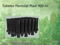 Tubetes Plásticos para Mudas Florestais, Seringueira, Cacau e Mogno Africano