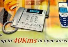 Telefone Sem Fio de Longo Alcance - SN 8320 - Ant. Externa Grátis