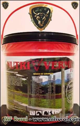 NUTRI-VERME-FLY VERMIFUGO EM PÓ (FORTE)