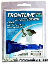 Frontline Top Spot Carrapaticida Para Cães Merial 1 a 10kg