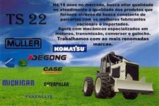 PEÇAS PARA TRATORES MULLER - MÁQUINAS DEGONG - PÁ CARREGADEIRAS