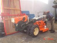 Mini/Micro Trator TOBATTA 14CV C/ROÇADEIRA REV. C/GARANTIA  4x4 ano