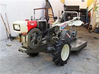 Mini/Micro Trator TC12 DE 12CV  DIESEL C/APARADOR DE GRAMA 4x2 ano 02