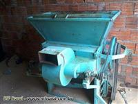 Maquina despopar feijão