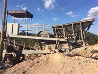 Moinho triturador de mandíbula para pedras cascalho minério