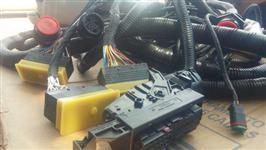 Chicote eletrico case A8800 JD 3510 3520 modulo cabos conectores