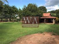 Fazenda com abundancia de água no Tocantins