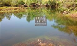 Fazenda ótima para agricultura com rio no estado do Tocantins