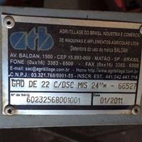 Grade Hidráulica -  GHO robusta (22 discos)