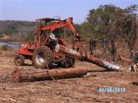 Trator Carregadeiras mf290 4x4 ano 94