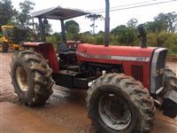 Trator Massey Ferguson 297 4x4 ano 91