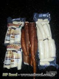 Mandioca de mesa pronta para consumo
