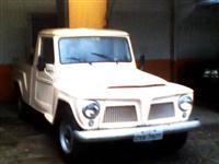 Pickup Rural F-75, ano 1981,  toda original, pneus zero