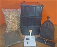 Composteira domestica Grande com minhoca californiana Promoção