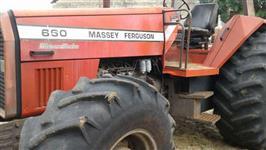 Trator Massey Ferguson 660 4x4 ano 93