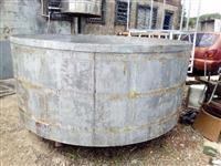 Reservatorio em aço inox 5000 lts