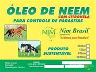 Óleo de Neem e Citronela - Pronto para Uso.