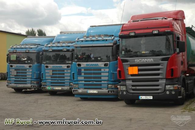 Caminhão Scania comp. ou so cavalo ENT + PARC DE 120M S/ BUROCRACIA E S/ JUROS / CONSORCIO.