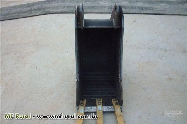 Concha escavadeira hidraulica -  SOB MEDIDA