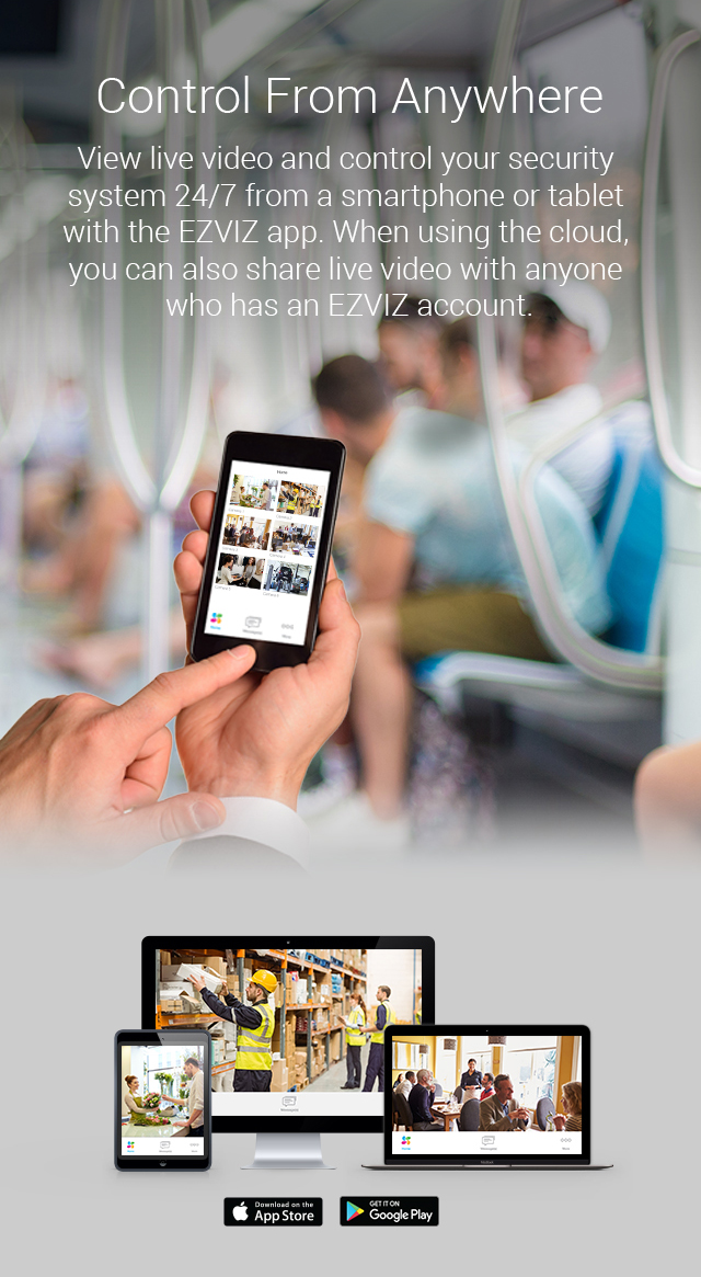 Everyday 3MP - EZVIZ HD Security Camera Kits