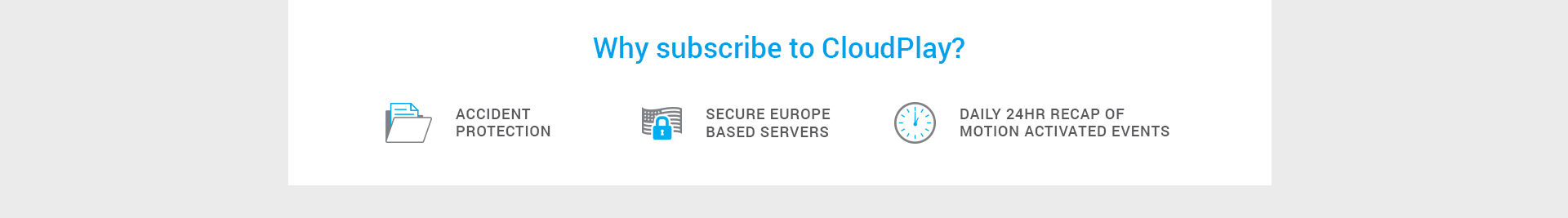 Why subscribe to CloudPlay?