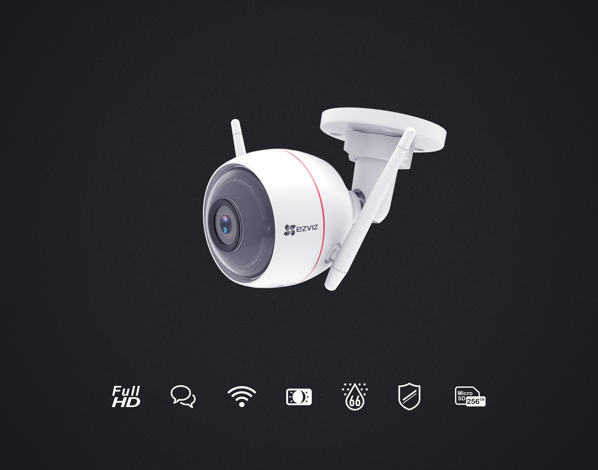 1f295f1517a C3W (ezGuard) - EZVIZ Wi-Fi Security Camera