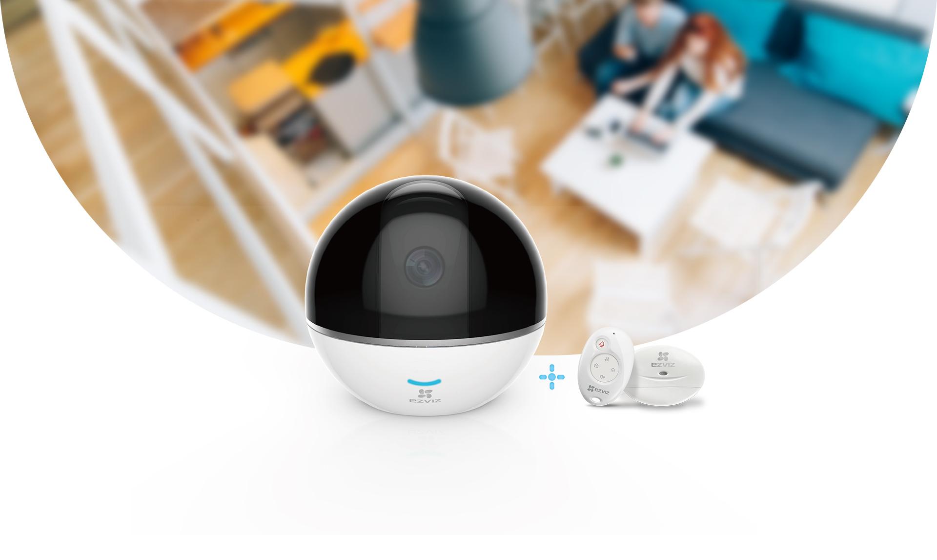 C6T RF Edition - EZVIZ กล้องวงจรปิด Wi-Fi