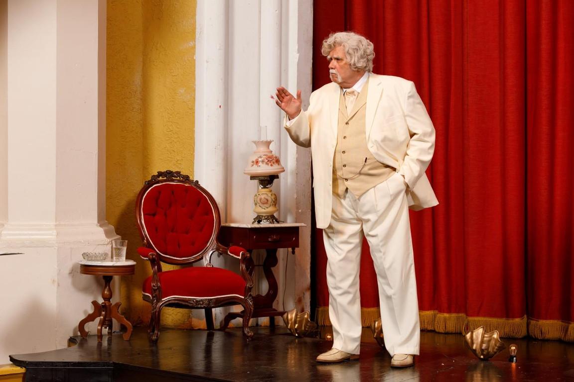 Michael Genevie as Mark Twain