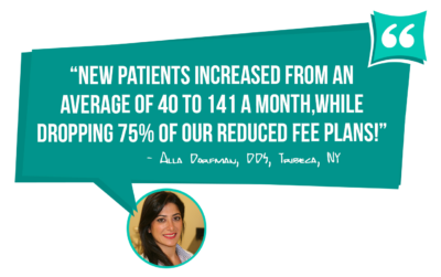 Alla Dorfman DDS went from 40 to 141 new patients per month - learn how you can too with MGE Management Experts!