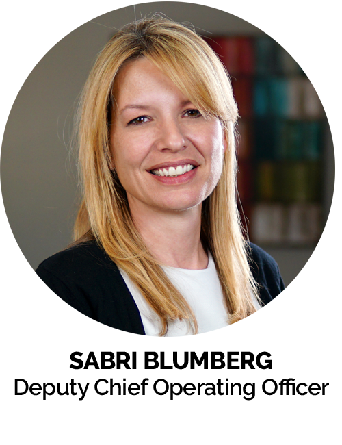 Sabri Blumberg Deputy Chief Operating Officer MGE