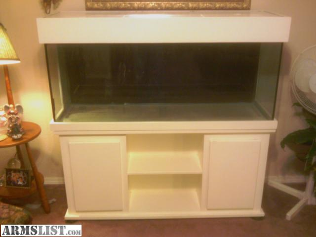 Armslist for sale trade 75 gallon fish tank with wood for Wood fish tank stand