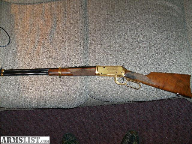 ARMSLIST - For Sale: winchester gold plated .30-30