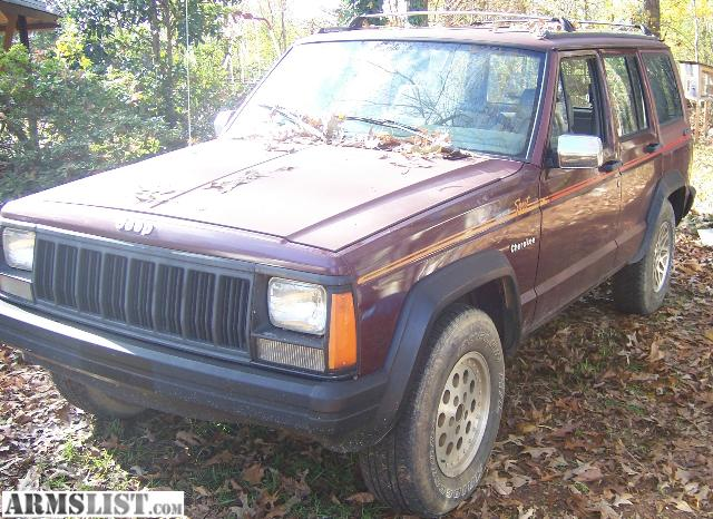 armslist for sale trade 1991 jeep cherokee sport. Black Bedroom Furniture Sets. Home Design Ideas