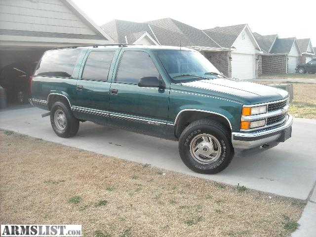 armslist for sale 1997 chevrolet suburban lt 4x4 5 7. Black Bedroom Furniture Sets. Home Design Ideas