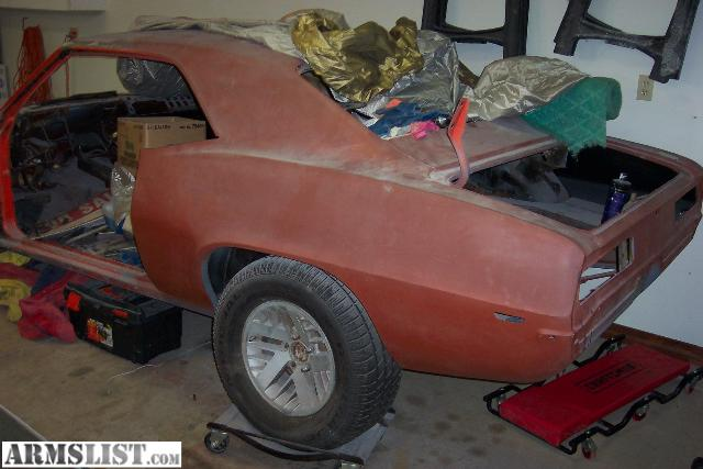 armslist for sale 1969 camaro project car. Black Bedroom Furniture Sets. Home Design Ideas