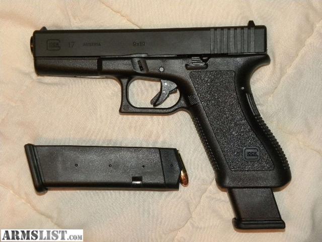 ARMSLIST - For Sale: Glock 17 Extended Slide & Mag. release  ARMSLIST - For ...